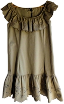 Valentino Khaki Cotton - elasthane Dress