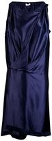 Jean Paul Gaultier Knott Silk folder dress