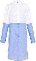 Sonia Rykiel Cotton Mix Twill Shirt Dress