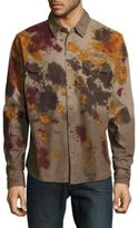 PRPS Economy Printed Casual Button-Down Shirt