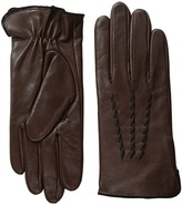 Lauren Ralph Lauren Whip Stitch Points Thinsulate Gloves Dress Gloves
