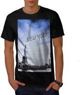 Statue of Liberty New York Men NEW XXL T-shirt | Wellcoda