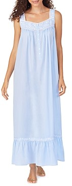 Eileen West Embroidered Cotton Ballet Nightgown