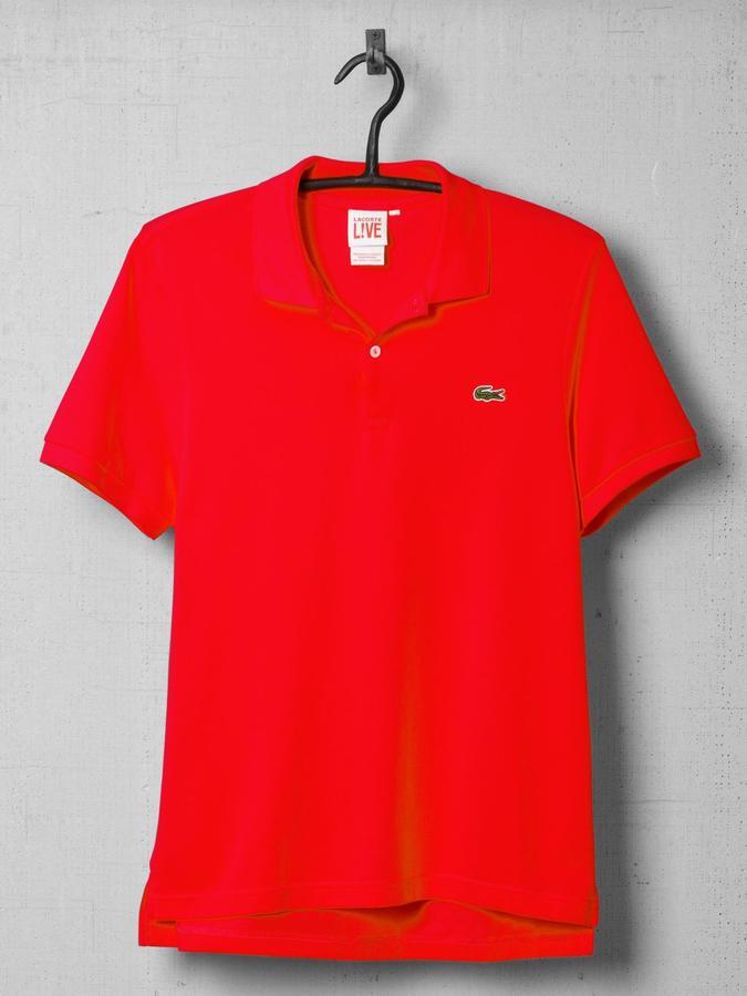 Lacoste L!ve Ultraslim Solid Pique Polo Shirt