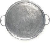 Match Small Round Tray with Handle