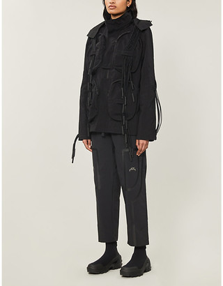 A-Cold-Wall* Tassel-trim hooded shell jacket