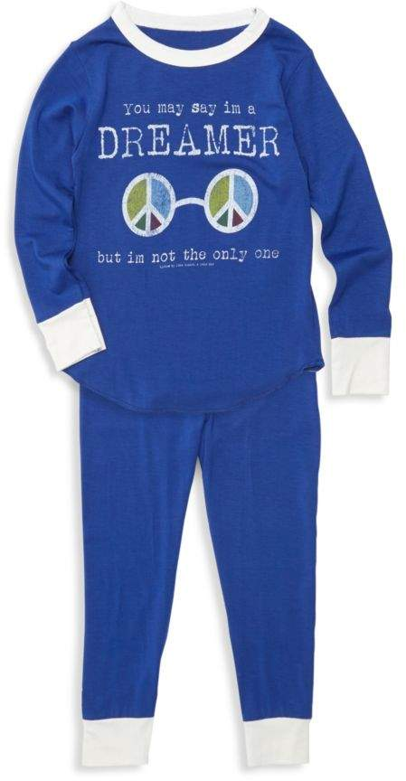 Rowdy Sprout Baby Boy's, Little Boy's & Boy's 2-Piece Dreamer Bamboo Pajama Set
