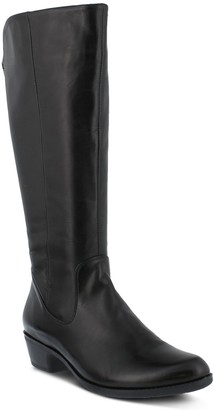 Spring Step Tall Leather Boots - Bolah