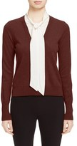 Veronica Beard Women's 'Arrow' Tie Neck Cashmere Sweater