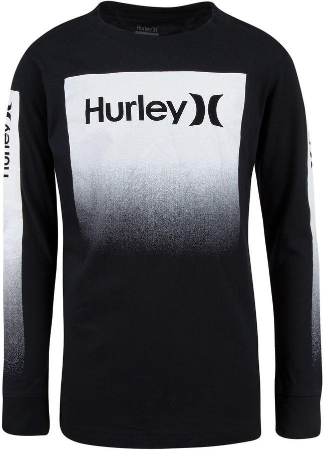 Hurley Printed Poplin Pull-On 982543-023 Black Boys
