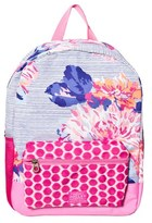 Joules Navy Floral Backpack