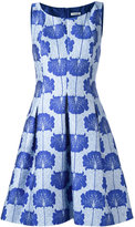 P.A.R.O.S.H. floral print dress - women - Polyamide/Polyester/Silk/Viscose - M