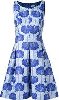 P.A.R.O.S.H. floral print dress - women - Silk/Polyamide/Polyester/Viscose - M