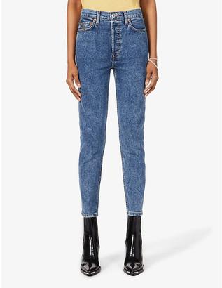 RE/DONE x Wonder Woman 1984 skinny high-rise stretch-denim jeans