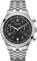 Bulova 43mm Men's Chronograph Bracelet Watch