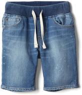 Gap Stretch denim pull-on shorts