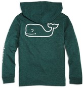 Vineyard Vines Boys' Long-Sleeve Whale Pocket Tee with Hood