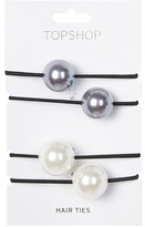 Topshop Elastic Ball Hairbands