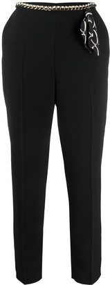 Elisabetta Franchi Slim-Fit Trousers
