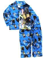 Lego Star Wars Boys Blue Flannel Pajamas