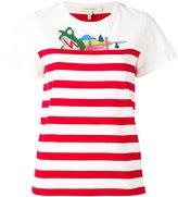 Marc Jacobs Julie Verhoeven striped T-shirt - women - Cotton - XS