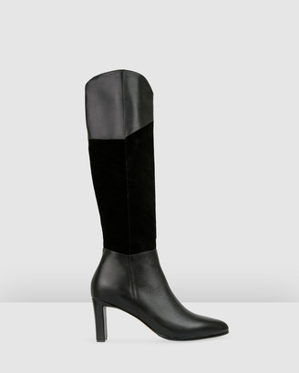 Bared Footwear - Women's Black Boots - Warbler Heeled Boots - Women's - Size One Size, 36 at The Iconic