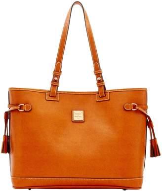 Dooney & Bourke Saffiano Double Strap Tassel Bag
