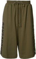 Juun.J embroidered track shorts - men - Cotton - 46