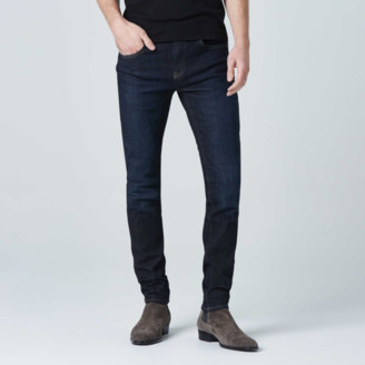 DSTLD Skinny Jeans in Six-Month Dark Worn