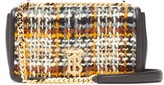 Burberry Lola Small Tweed And Leather Shoulder Bag - Womens - Multi