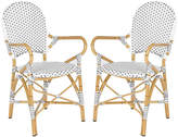 One Kings Lane Gray Odeon Bistro Armchairs - Set of 2