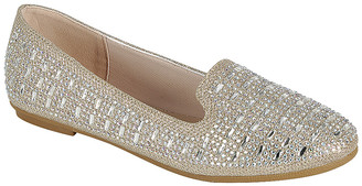 Amy Women's Loafers champn - Champagne Anna Geo-Studded Loafer - Women