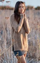 Honey Punch Cowl Neck Pullover Sweater