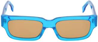 RetroSuperFuture Roma Hot Blue Acetate Sunglasses
