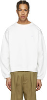 Acne Studios Ecru Fint Face Sweatshirt