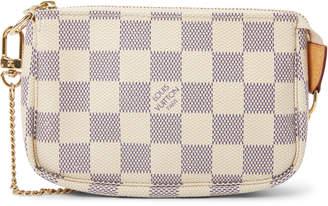 Louis Vuitton Pochette Damier Azur Mini White/Blue