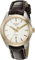 Tissot Women's T1012102603600 PR 100 Analog Display Swiss Quartz Brown Watch