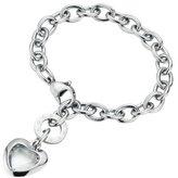 Gerry Weber 138796210580 Ladies'Bracelet Stainless Steel Shine 21 CM Heart 138917310210