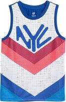 H&M Mesh Basketball Shirt - White/New York - Kids