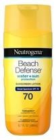 Neutrogena Beach Defense® Sunscreen Lotion Broad Spectrum SPF 70 - 6.7 Oz