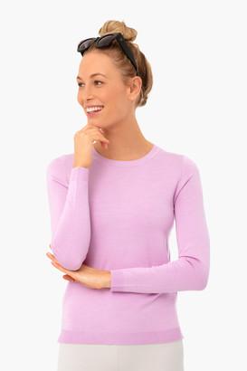 525 America Electric Lilac Carolina Crewneck Sweater
