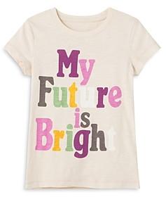 Peek Kids Girls' Bridget Future Is Bright Tee - Little Kid, Big Kid