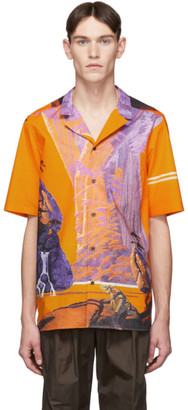Valentino Multicolor Yellow City Shirt