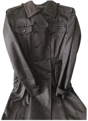 Gucci Black Silk Trench coats