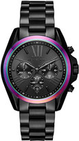 MICHAEL Michael Kors 40mm Jet Set Chronograph Bracelet Watch, Black
