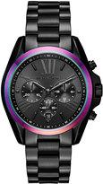 MICHAEL Michael Kors 40mm Jet Set Chronograph Bracelet Watch, Black