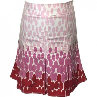 Marc Jacobs Pink Cotton Skirts