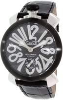 GaGa MILANO Men's 5013.01S Leather Automatic Fashion Watch