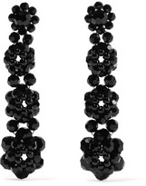 Simone Rocha Beaded Earrings - Black