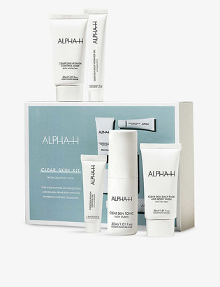 Alpha-h Clear Skin Starter Kit with salicylic acid